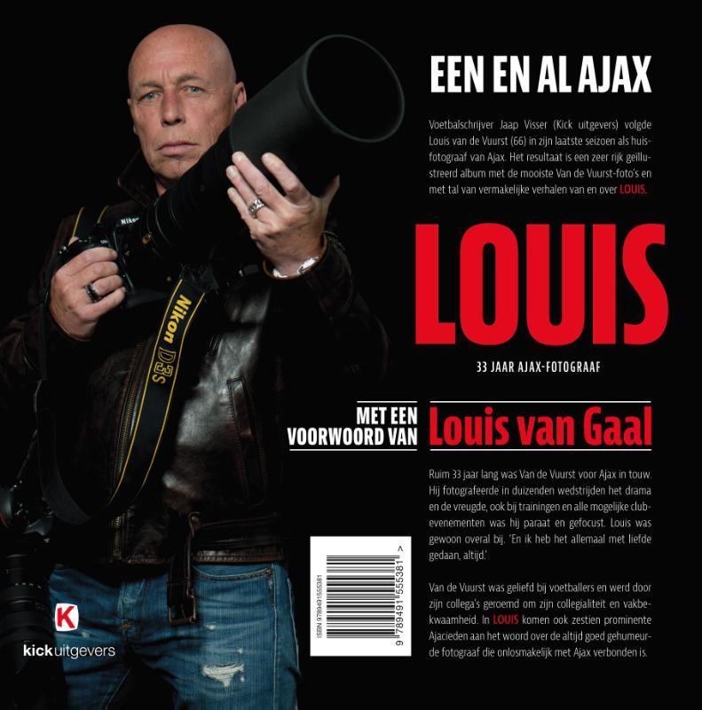 Jaap Visser,LOUIS - een en al Ajax