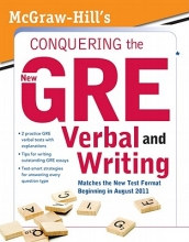 Zahler, Kathy A. McGraw-Hill`s Conquering the New GRE Verbal and Writing