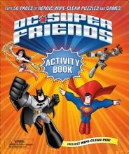DC Comics DC Super Friends Wipe Clean Activity Book