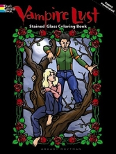 Arkady Roytman Vampire Lust Stained Glass Coloring Book