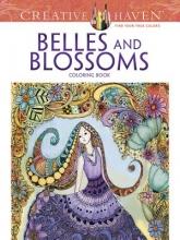Krisa Bousquet Creative Haven Belles and Blossoms Coloring Book
