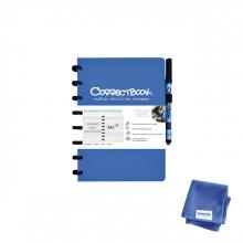 , Notitieboek Correctbook A5 lijn 40blz horizon red