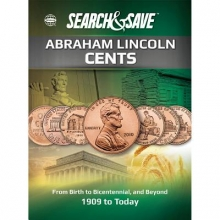 Whitman Save & Search Abraham Lincoln Cents