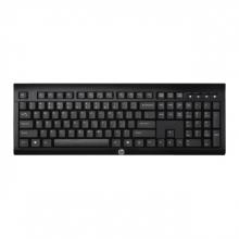 , Toetsenbord HP K2500 QWERTY draadloos zwart