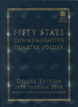 Fifty State District of Columbia and Territorial Quarter Folder