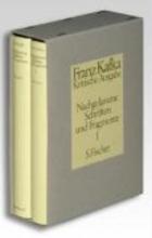Kafka, Franz Nachgelassene Schriften und Fragmente I. Kritische Ausgabe