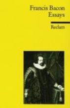 Bacon, Francis Essays oder praktische und moralische Ratschlge