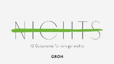Gutscheinbuch NICHTS