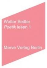 Seitter, Walter Poetik lesen 1