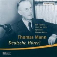 Mann, Thomas Deutsche Hörer! CD