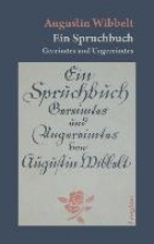 Wibbelt, Augustin Ein Spruchbuch