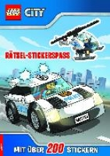 LEGO� CITY(TM) R�tsel-Stickerspa� mit �ber 200 Stickern