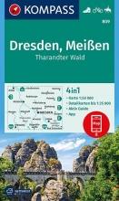 , Dresden, Meißen, Tharandter Wald 1:50 000