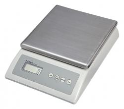 , Pakketweger MAULCount 10kg metalen plateau 17x17.5cm 220V/+ batterij