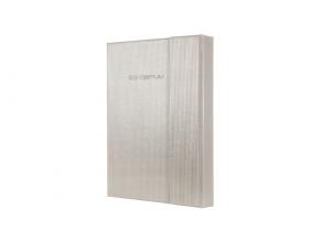Co629 Notitieboek a6 conceptum glam hardcover lijn magneetsluiting champagne metallic