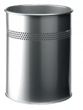 , Papierbak Durable 3300-23 15liter 30mm perforatie zilver