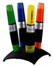 , Markeerstift STABILO Luminator 7104-2 bureauset à 4 kleuren