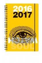 Schülerkalender PriPlak Wire-O Watch Soul 2016/2017