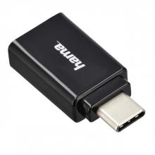 , Adapter Hama 3.1 USB-A naar USB C
