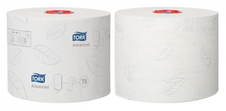 , Toiletpapier Tork T6 127530 Advanced 2laags 100m 27rollen