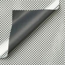 , Apparaatrol zilver met stippen 100mx50cm