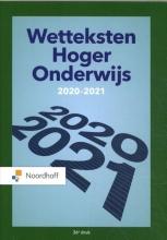 Redactieraad , Wetteksten Hoger Onderwijs 2020-2021