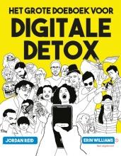 Erin Williams Jordan Reid, Het grote doeboek voor digitale detox