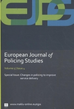 Antoinette  Verhage European Journal of Policing Studies - Changes in policing to improve service delivery