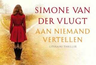 Simone van der Vlugt Aan niemand vertellen DL
