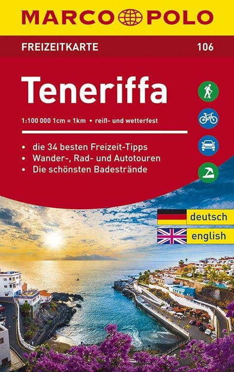 ,MARCO POLO Freizeitkarte Teneriffa 1:100 000