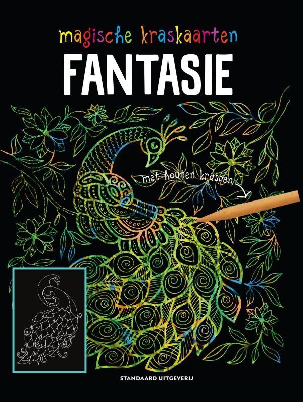 ,Magische kraskaarten Fantasie