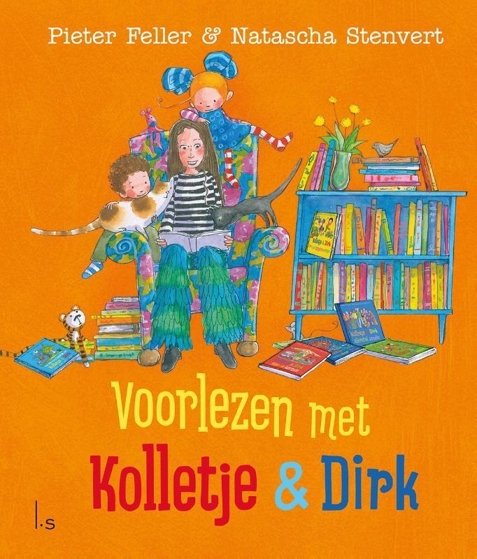 Pieter Feller, Natascha Stenvert,Voorlezen met Kolletje en Dirk