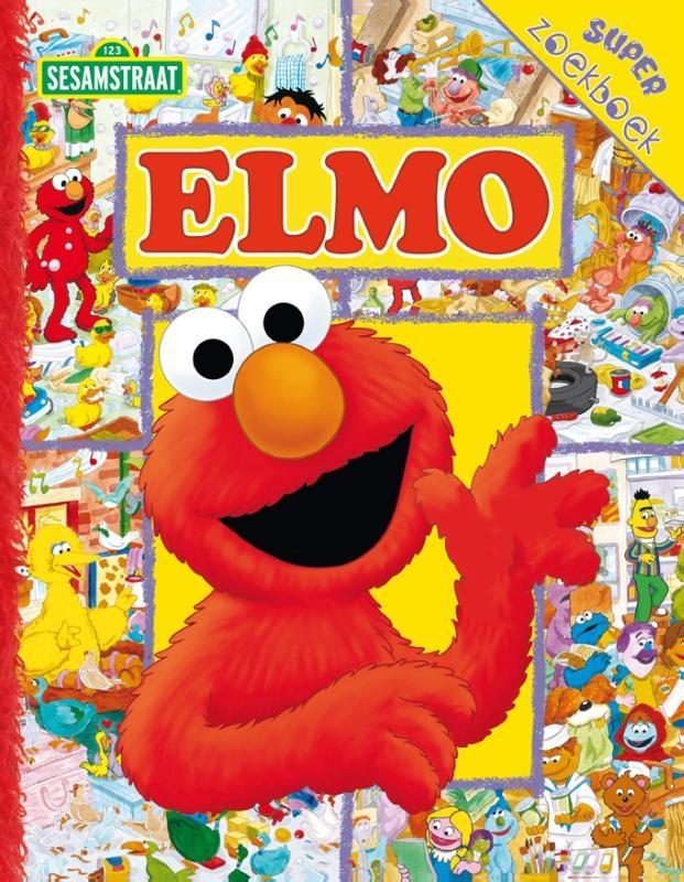 Sesame Workshop,Elmo`s Super Zoekboek