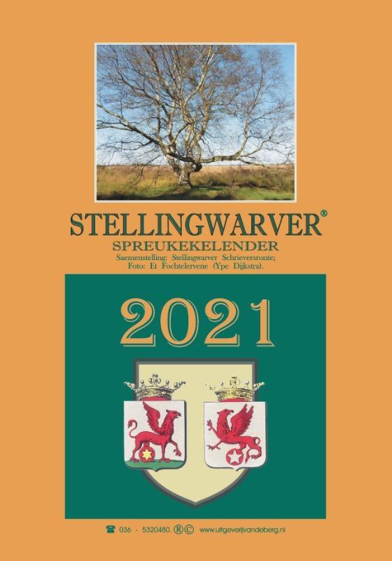 Stellingwarver Schrieversronte,Stellingwarver spreukekelender 2021