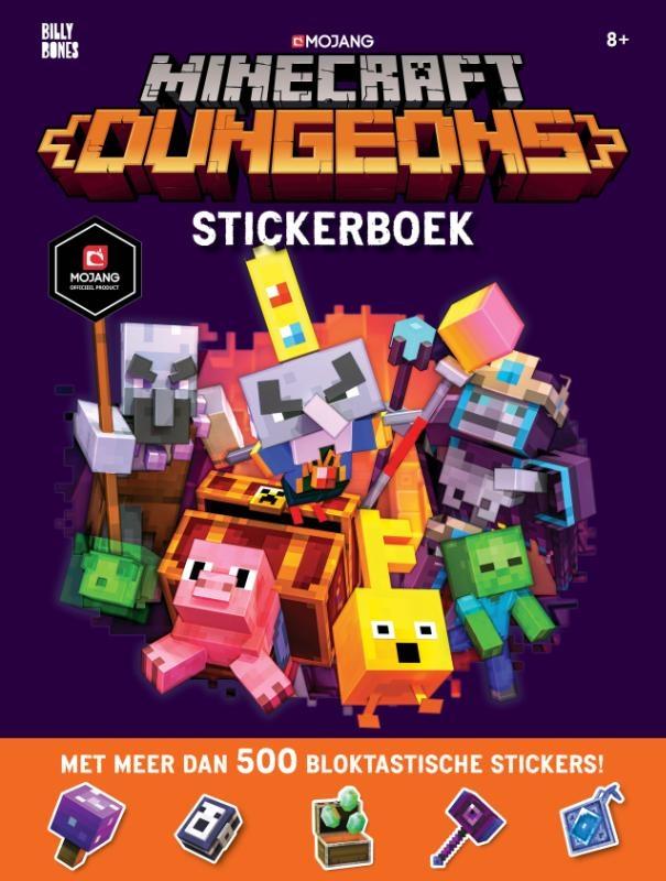 ,Minecraft - Dungeons Stickerboek