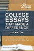 Princeton Review,College Essays That Made a Difference, 6th Edition