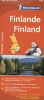 <b>MICHELIN WEGENKAART 754 FINLAND</b>,
