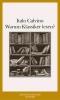 Calvino, Italo,Warum Klassiker  lesen ?