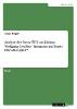 Rieger, Lukas,Analyse der Szene IV, 5 aus Johann Wolfgang Goethes