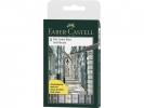 <b>Fc-167808</b>,Faber Castell Tekenstift  Pitt Soft Brusch 8 Stuks
