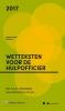 M.G.M.  Hoekendijk,Zakboek Wetteksten voor de Hulpofficier 2017