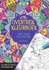 ,Creative colors Overtrekkleurboek, kleuren voor volwassenen