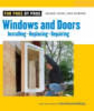 Editors of Fine Homebuilding Windows and Doors