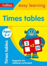 Collins Easy Learning,   Simon Greaves Times Tables Ages 5-7: New Edition