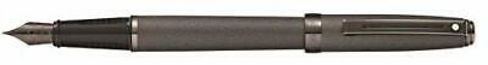 Sh-e0914643 , S55 sheaffer prelude vulpen gunmetal mat f punt