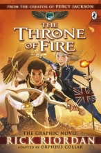 Rick Riordan The Throne of Fire: The Graphic Novel (The Kane Chronicles Book 2)