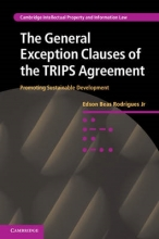 Rodrigues Jr, Edson Beas The General Exception Clauses of the Trips Agreement