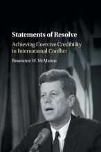 Roseanne W. McManus Statements of Resolve