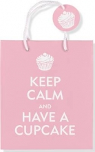 Keep Calm and Have a Cupcake Gift Bag
