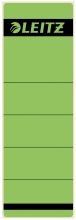 , Rugetiket Leitz breedkort 62x192mm zelfklevend groen